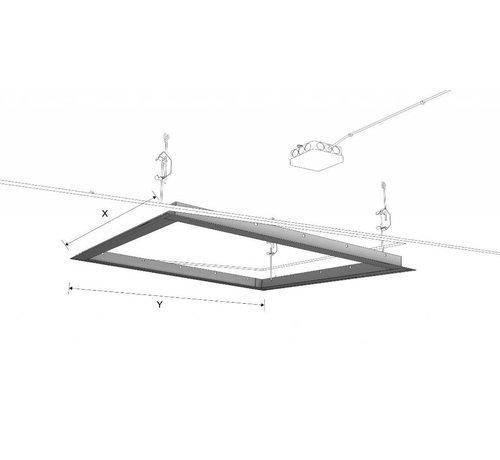 Ecosun Aluminium Frame voor het inbouwen van Ecosun