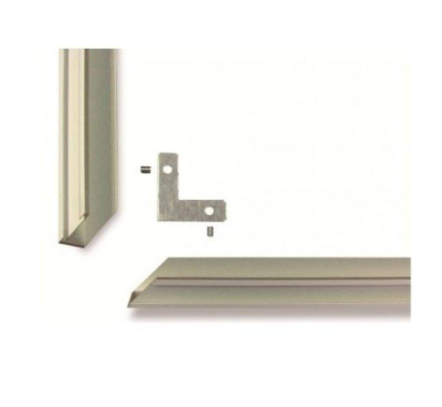 Aluminium frame voor 300 en 600/700Watt Ecosun paneel
