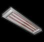 RVS high power infrarood heater strip