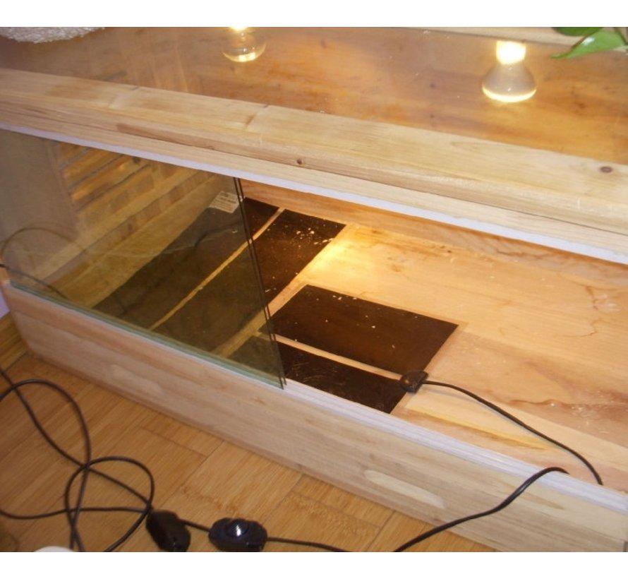 Warmtemat QH 28x28cm met dimmer en Aan/Uit schakelaar