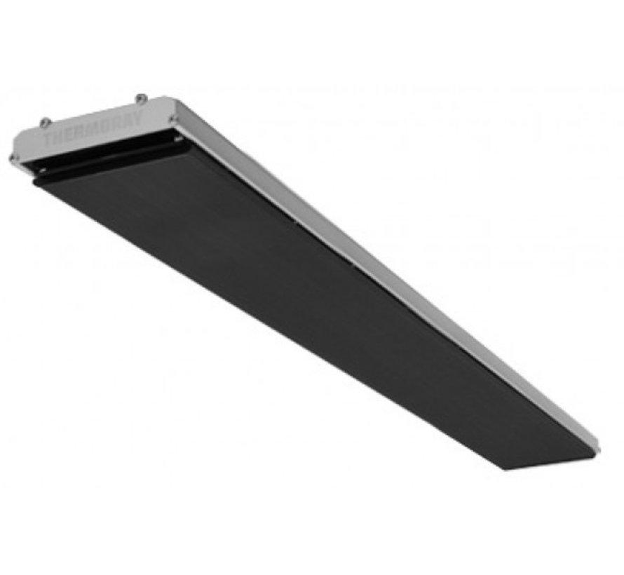 Thermoray black infrarood high power heater 1500 - 3000Watt