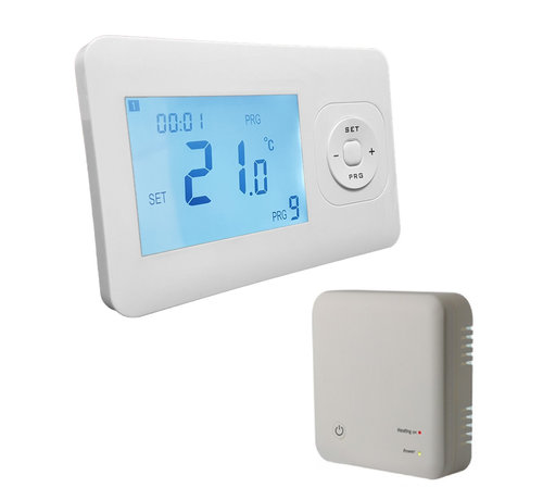 Quality Heating QH Basic programmeerbare thermostaat incl. compacte opbouw ontvanger