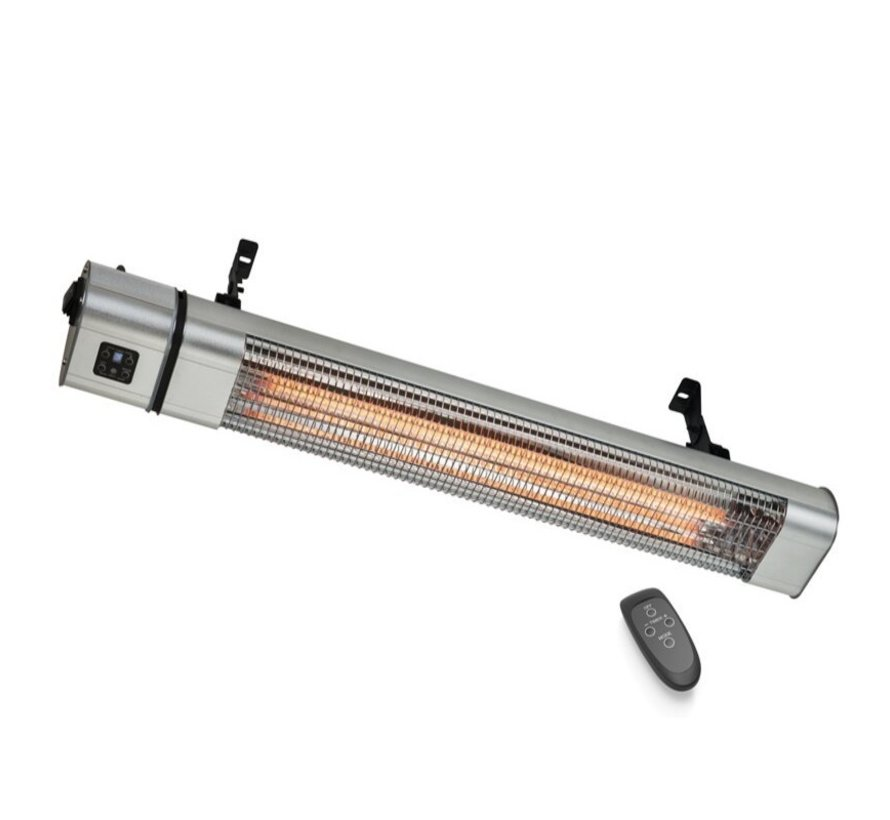 Infrarood golden heater met afstandsbediening vermogen instelbaar