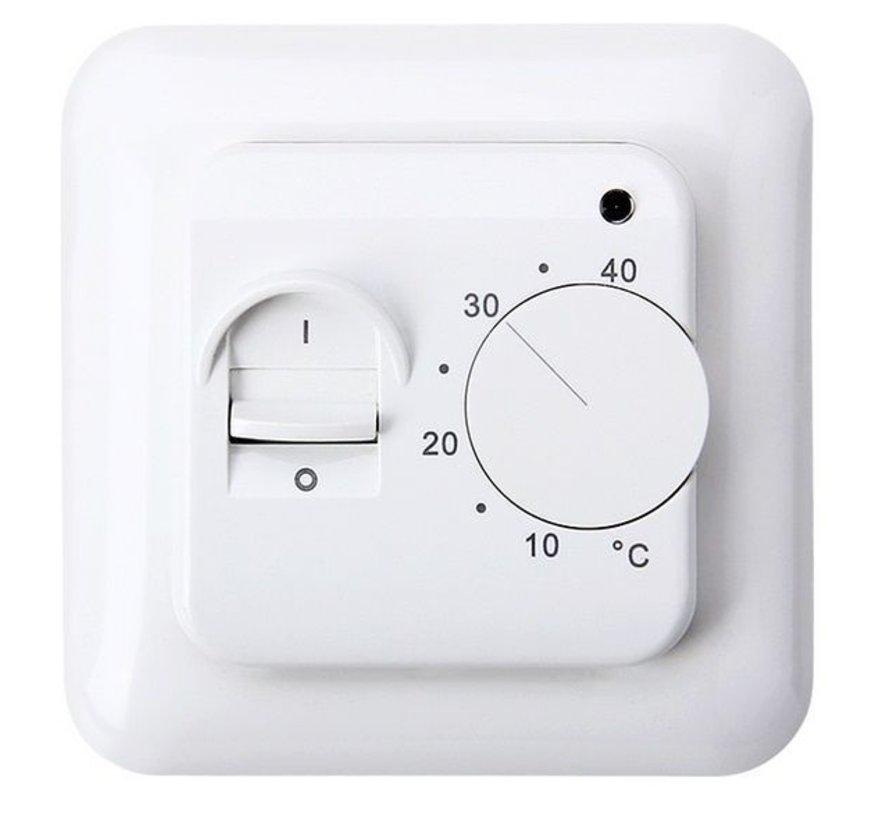 200 Watt mat set inclusief eenvoudige Manual thermostaat