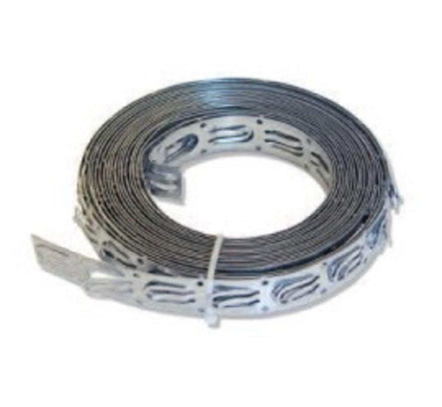 Spacestrip 10 meter voor het monteren van de vloerverwarming kabel