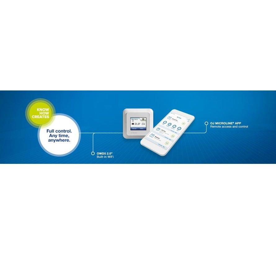 MWCD5 met Wifi Thermostaat OJ microline
