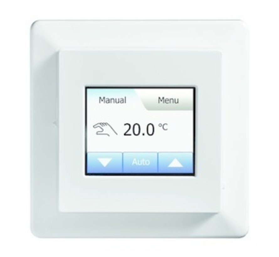100 Watt elektrische vloerverwarming mat set inclusief Programmeerbare OCD5  meertalige thermostaat