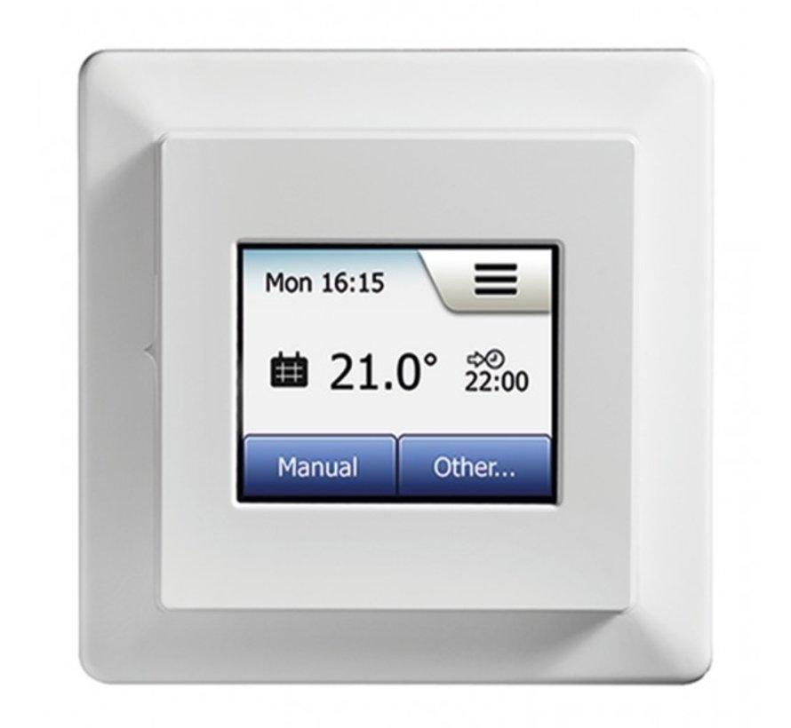 200 Watt elektrische vloerverwarming mat set inclusief Programmeerbare OCD5  meertalige thermostaat