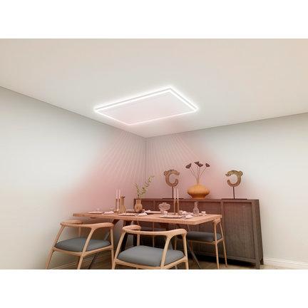 Voeg verlichting en verwarming samen met een led-paneel
