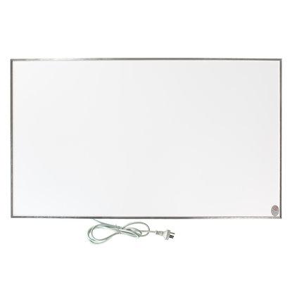 Moderne witte infrarood panelen met aluminium kader