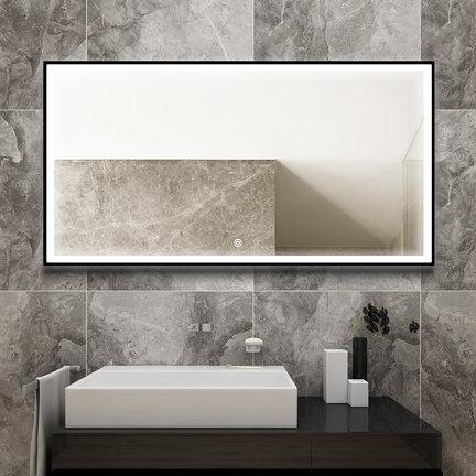 De mooiste badkamerspiegels met zwart frame