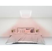 Quality Heating QH infrarood paneel wit met led verlichting 70 x 70 cm 350Watt