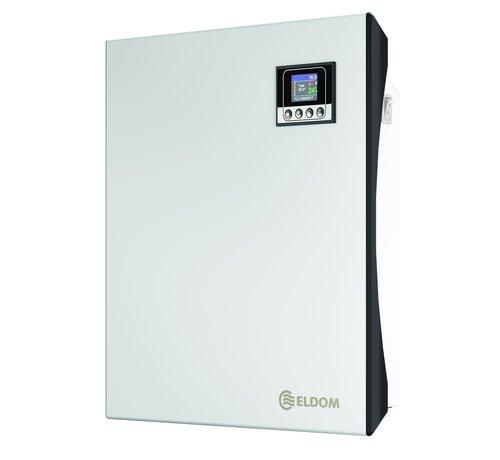 Eldom Wifi Eldom elektrische kachel Extra Life met elektronische instelbare thermostaat