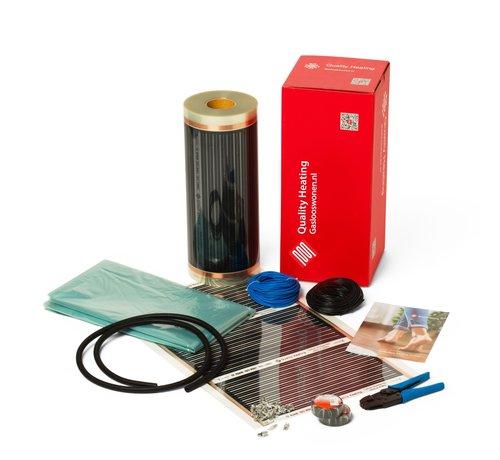 Quality Heating Vloerverwarmingsfolie p/m2 80Watt