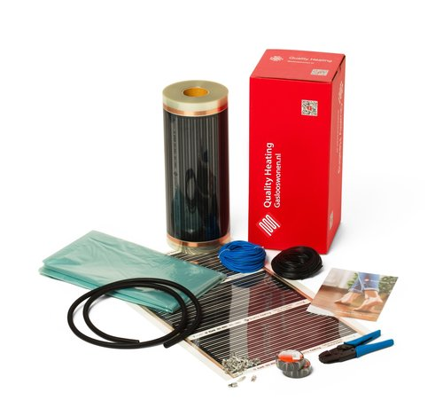 Quality Heating 140Watt m² folie zonder thermostaat