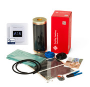 Quality Heating 100Watt m² folie set z-wave domotica wit of zwart