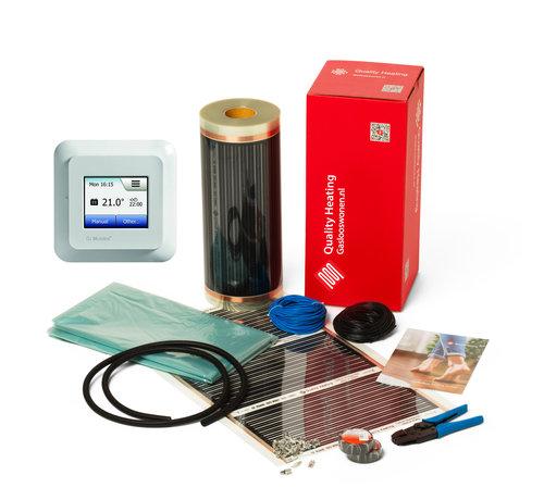 Quality Heating 100Watt m² folie set OCD5 busch jaeger of jung