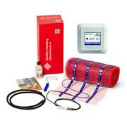 100 Watt elektrische vloerverwarming mat set inclusief OCD5 meertalige past in Gira, Merten, Busch Jage
