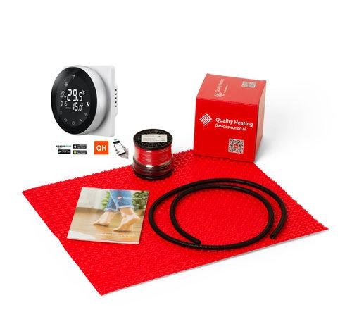 Quality Heating 120Watt m² DCM-PRO set Wifi design PRF-80