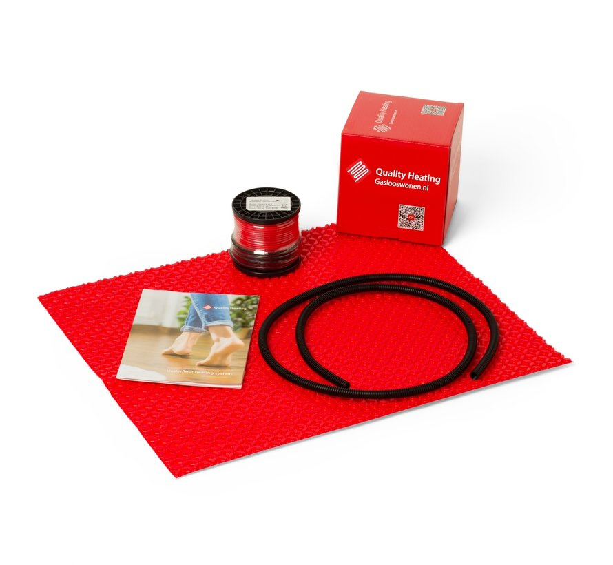 DCM-PRO Sheet + Vloerverwarmingskabel pm2 - 80Watt