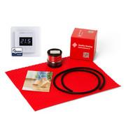 Quality Heating 120Watt m² DCM-PRO set z-wave domotica wit of zwart