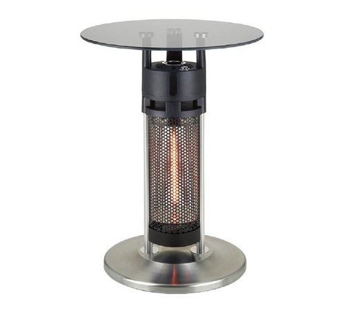 Quality Heating Laag model glazen infrarood terrasheater tafel 1200Watt