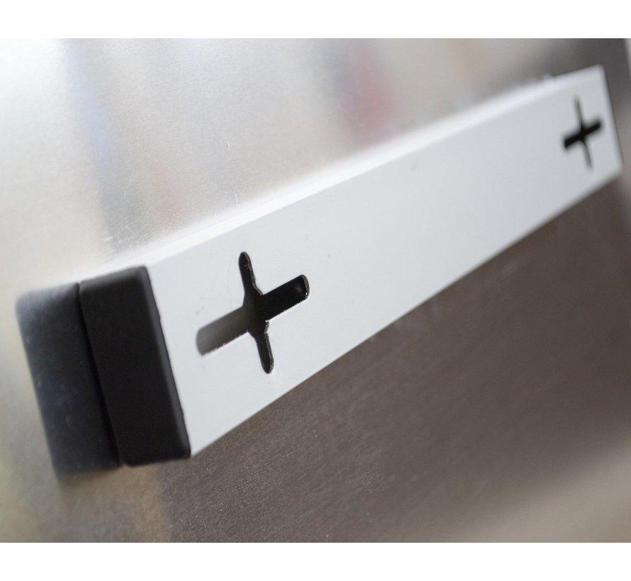 QH infrarood paneel met aluminium kader 900Watt 90X120 cm