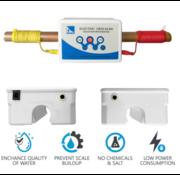 Elektronische waterontharder ontkalker Ecoline voor woonhuis en bedrijf - ontkalker - geen magneet