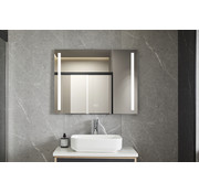 Bella Mirror Spiegel 60 x 120 cm frameloos, inbouw led verlichting en anti condens