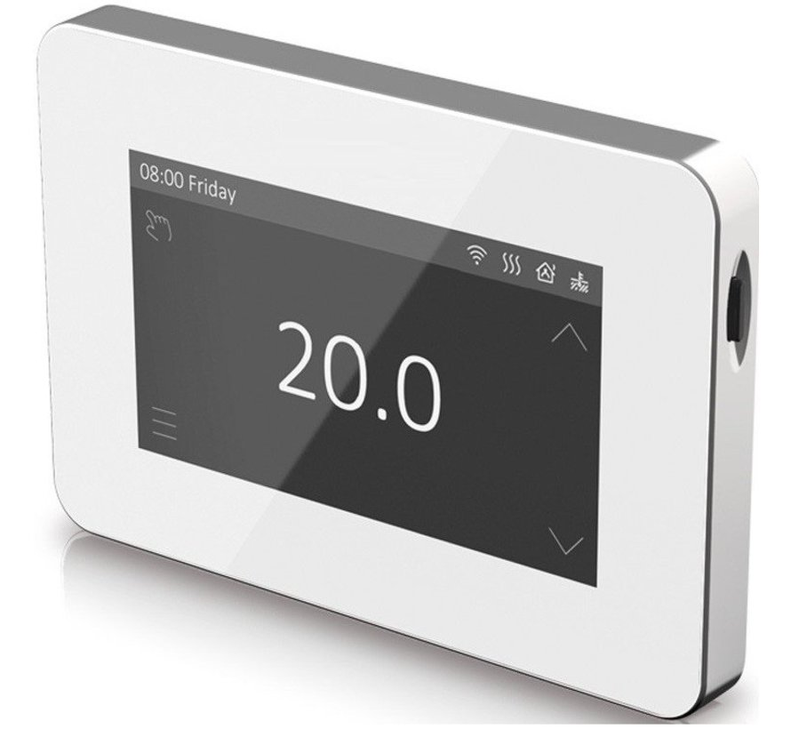 V1 pro touch wifi design thermostaat