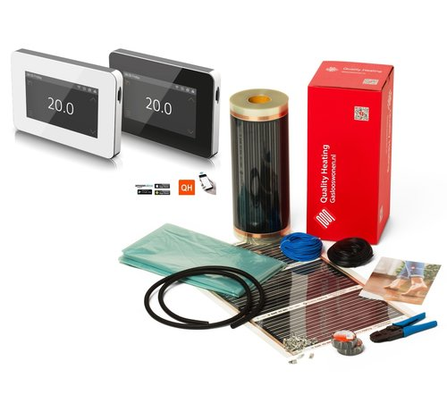 Quality Heating 120Watt m² folie set Wifi design V1