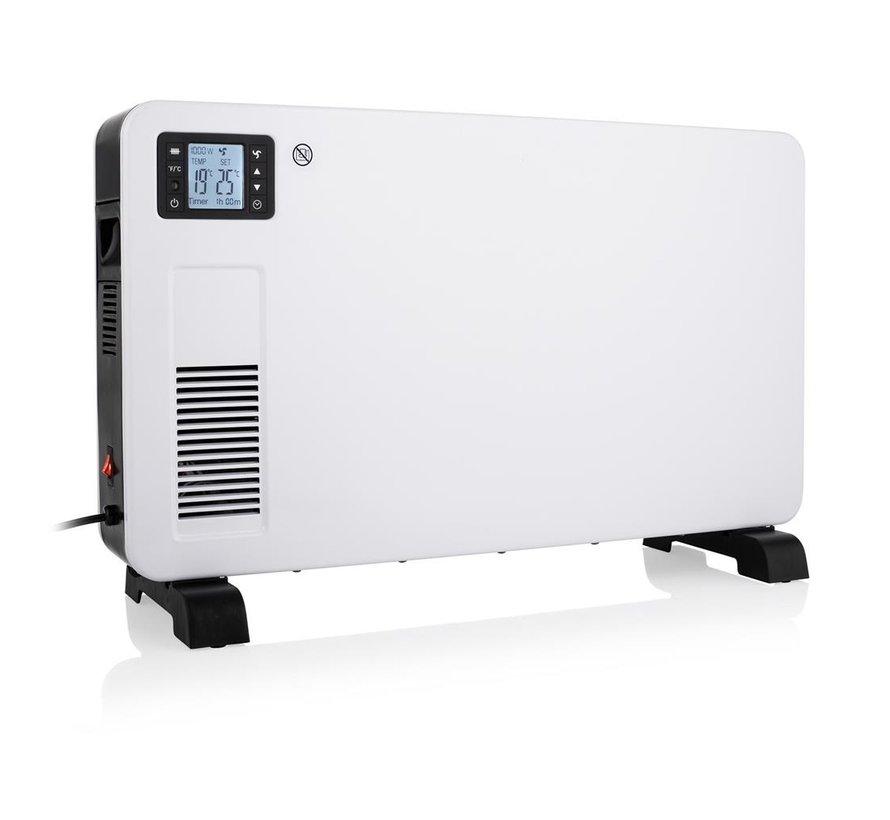 Easy comfort 2000Watt Wifi convector elektrische kachel wand en vrijstaand Quality Heating