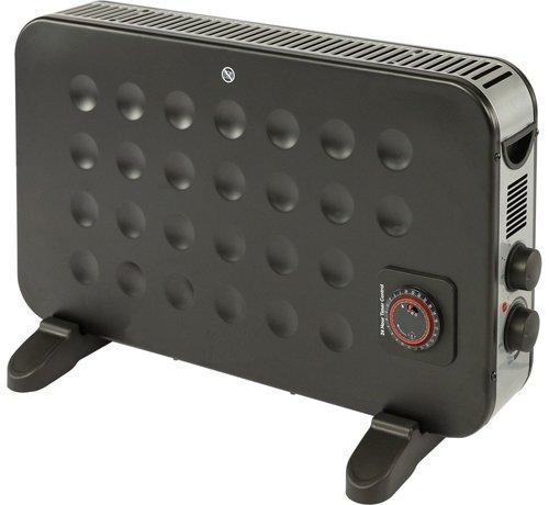 Quality Heating Turbo 2000Watt convector elektrische kachel wand en vrijstaand met timer en vermogen instelbaar