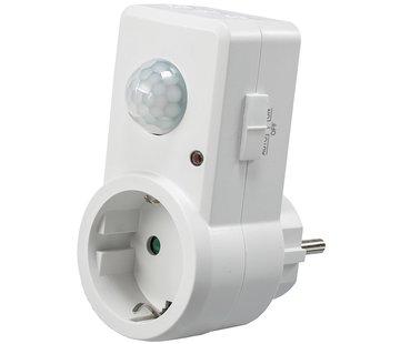 Quality Heating Stopcontact bewegingsmelder aan/uit schakelaar