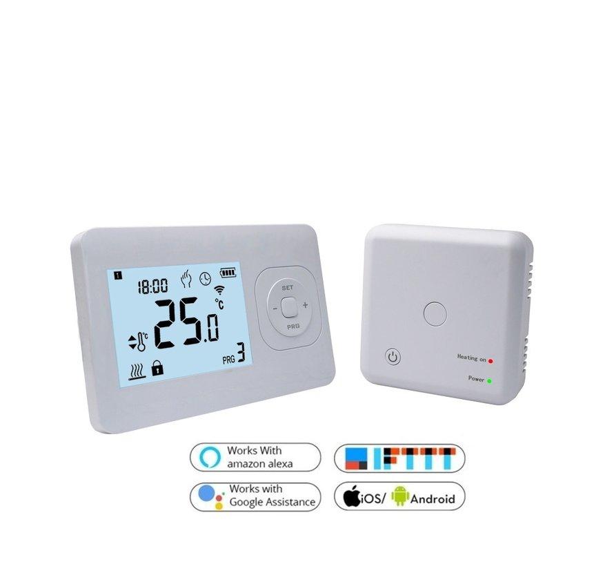 Wifi draadloos programmeerbare thermostaat met ontvanger