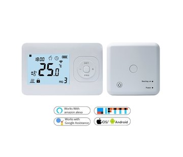 Quality Heating QH Basic draadloze programmeerbare wifi thermostaat