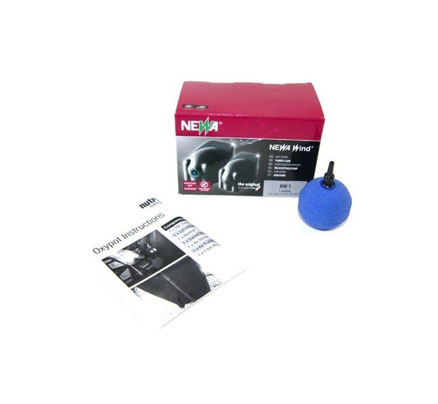 Oxypot Single DWC Inc. Air Kit