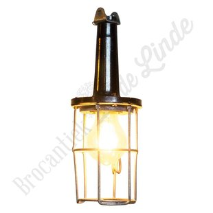 Vintage bakelieten looplamp