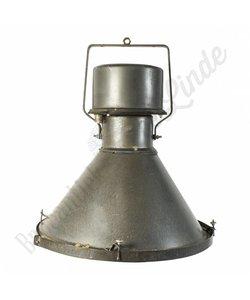 Fabriekslamp Teplice met glasplaat