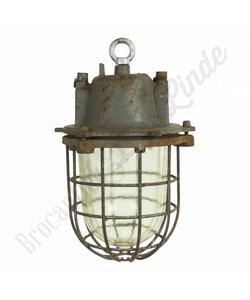 Oude industriële lamp explosievrij