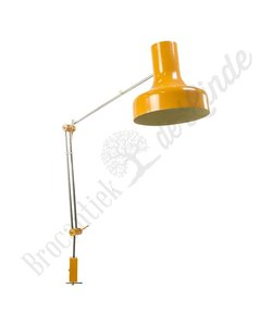 "Klemlamp ""Orange Snake"""
