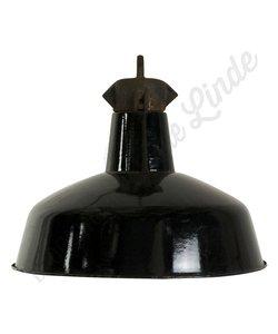 """Fabriekslamp """"Bauhaus zwart emaille"""""""
