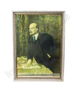 """Groot schilderij """"Lenin"""" SALE"""