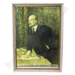 """Groot schilderij """"Lenin"""""""