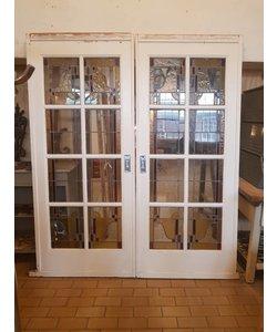 Glas in lood ensuite deuren