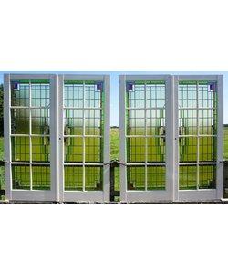 Glas in lood deuren No. 1 set van 2