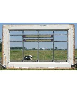 47 x 76 cm - Glas in lood raam No. 79