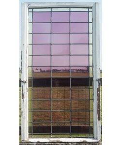 150 x 83 cm - Glas in lood raam No. 94