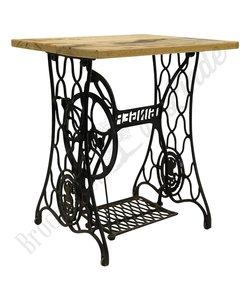 Vintage naaimachine tafel 'Singer'