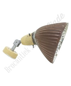 Vintage wandlamp 'Brown'